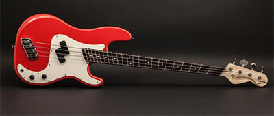 Super P 4 Alder Fiesta Red Parchment Maple Wenge e
