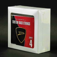 BOX OF 5 SETS OF STRINGS - DINGWALL STAINLESS STEEL MEDIUM-SCALE 4 STRING SET (SUPER J, SUPER P)  .045
