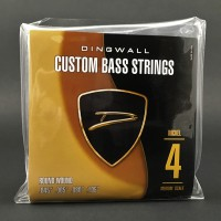 DINGWALL NICKEL PLATED STEEL MEDIUM-SCALE 4 STRING SET  .045