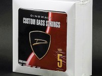 BOX OF 4 SETS OF STRINGS - DINGWALL NICKEL PLATED STEEL LONG-SCALE 5 STRING SET.  045
