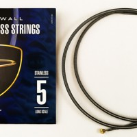 F# TUNING SET STAINLESS STEEL - DINGWALL STAINLESS STEEL LONG-SCALE 5 STRING SET WITH F# STRING.  045
