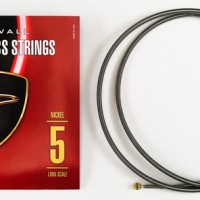 F# TUNING SET NICKEL - DINGWALL NICKEL PLATED STEEL LONG-SCALE 5 STRING SET WITH F# STRING.  045