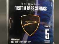 DINGWALL STAINLESS STEEL LONG-SCALE 5 STRING SET .045