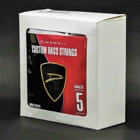 BOX OF 4 SETS OF STRINGS - DINGWALL STAINLESS STEEL MEDIUM-SCALE 5 STRING SET (SUPER J, SUPER P)  .045