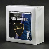 BOX OF 4 SETS OF STRINGS - DINGWALL STAINLESS STEEL LONG-SCALE 6 STRING SET .030