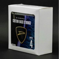 BOX OF 5 SETS OF STRINGS - DINGWALL STAINLESS STEEL LONG-SCALE 4 STRING SET.  045